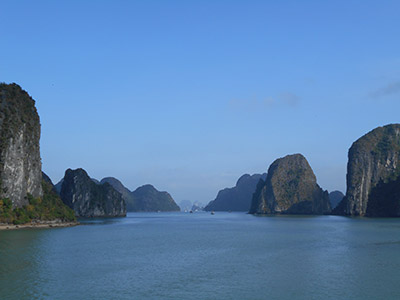 Halong bay from Alisa